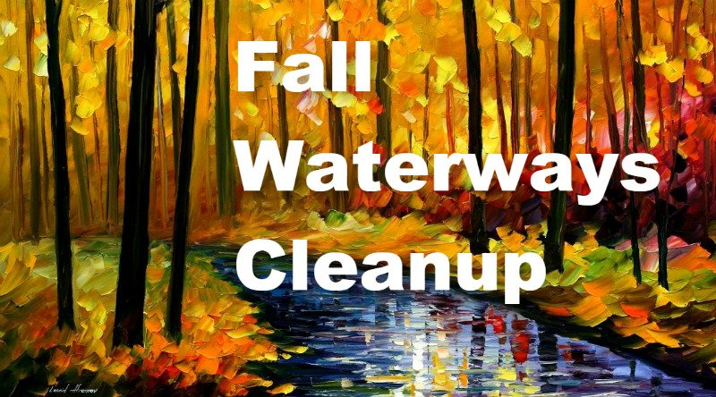 Fall Waterways Cleanup